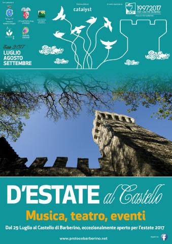 Un'estate di eventi al Castello di Barberino di Mugello