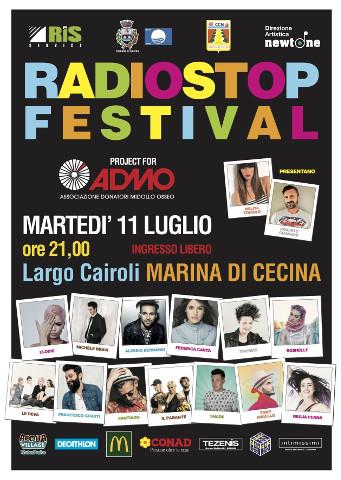 """""""Radio Stop Festival per ADMO"""" a Cecina"""