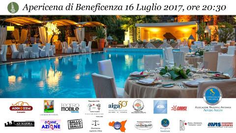cena di beneficenza a Catania