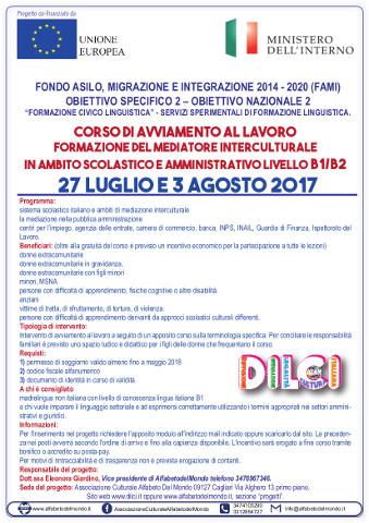 Corso di mediatore interculturale a Cagliari