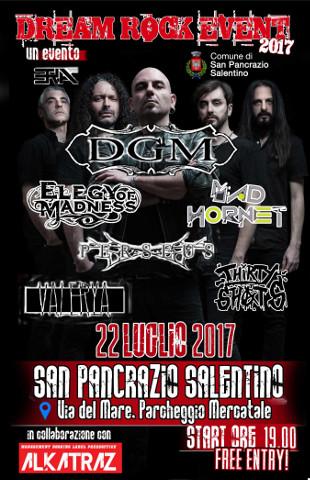 """Con """"Dream rock event 2017"""" il Salento si tinge di rock"""