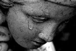 statua che piange