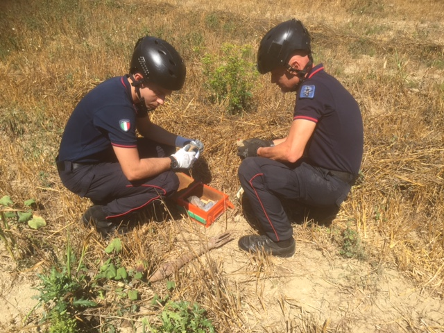 Palazzuolo sul Senio: ordigno bellico fatto brillare dai carabinieri