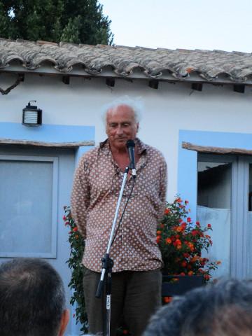 Stefano Benni, gran giullare al festival Cuncambias
