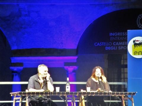 Maurizio De Giovanni e Marilù Oliva