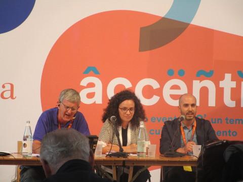 Peter Mead, Massimo Cutugno e Angela Maiello