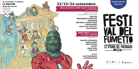 XI edizione del Festival e Fiera del fumetto Le Strade del Paesaggio