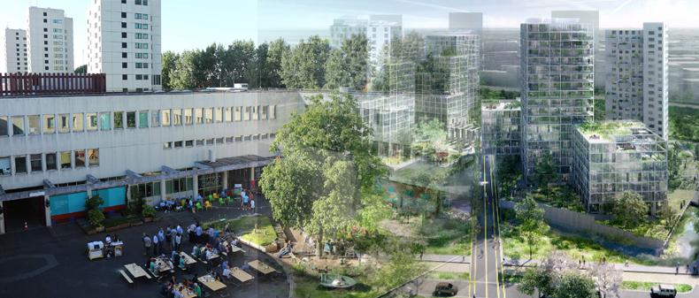 Ad Amsterdam al posto di un carcere nascerà un quartiere green