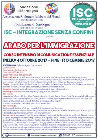 """Corso di arabo essenziale """"per l'immigrazione"""" a Cagliari"""