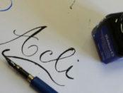 corso di calligrafia a Cagliari