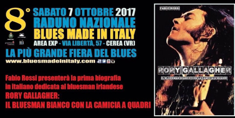 Fabio Rossi firma il primo saggio italiano su Rory Gallagher