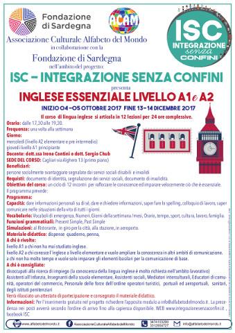 Corso di inglese essenziale a Cagliari