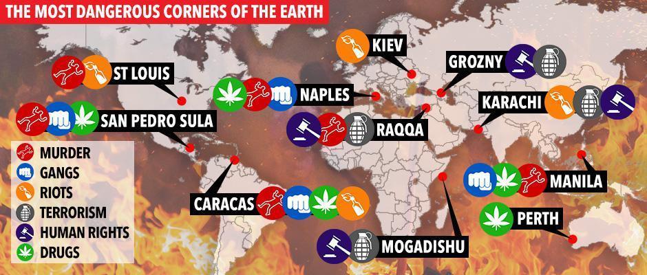Napoli tra le 10 città più pericolose al mondo? No. E' sensazionalismo  del Sun