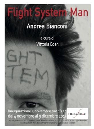 """Flight System Man"", personale di Andrea Bianconi a Ferrara"