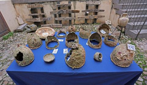Dall'archeologia subacquea nuovi reperti in Sicilia