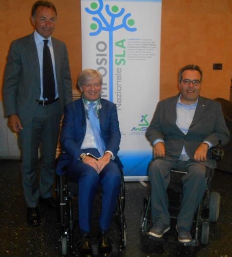 Massimo Mauro, Mario Melazzini e Alberto Fontana