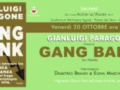 Paragone con Gang bank a Lucca