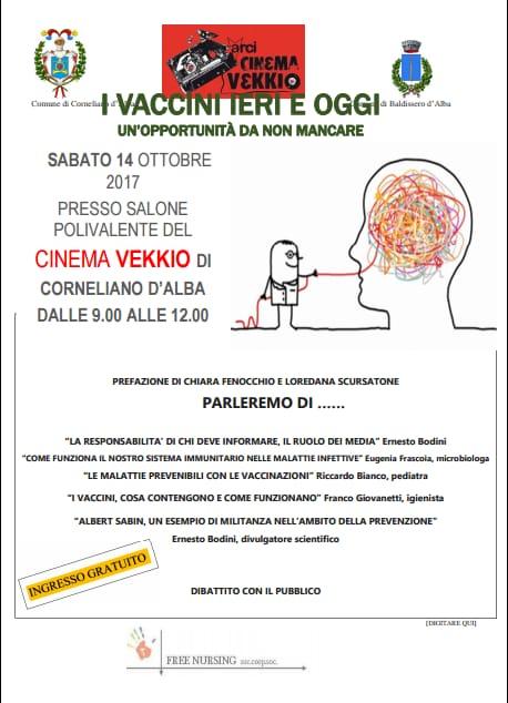 convegno sui vaccini