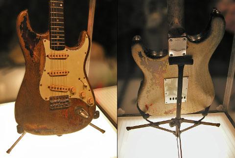Fender Stratocaster Sunburst di Gallagher