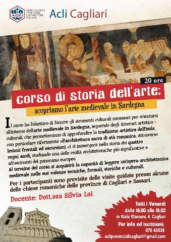 A Cagliari un corso di Storia dell'arte medievale in Sardegna