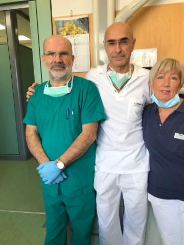 In visita all'ospedale Martini di Torino