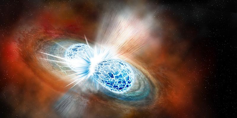 Due stelle di neutroni si fondono e nasce l'astronomia multimessaggera