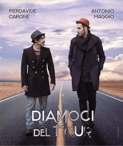 """Antonio Maggio e Pierdavide Carone insieme per il """"Diamoci del tour"""""""