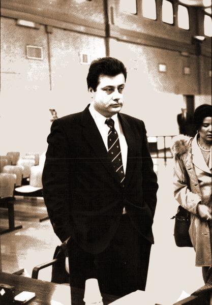 Massimo Carlotto durante il processo