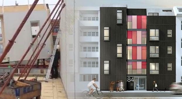 """""""Urbanest""""  è un condominio di legno a Berlino"""
