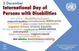 Ieri la Giornata internazionale della disabilità