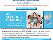 incontro su donazione organi a Ossi