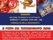 tombolata benefica a Sassari