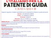 corso di italiano per la patente