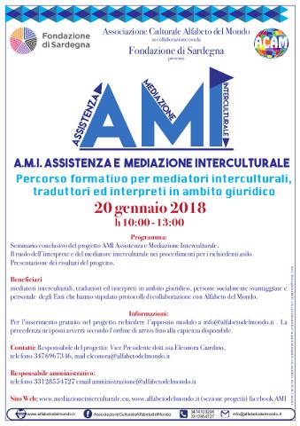 Seminario su mediazione interculturale a Cagliari