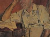 quadro di Sirio Salimbeni intitolato Babbo