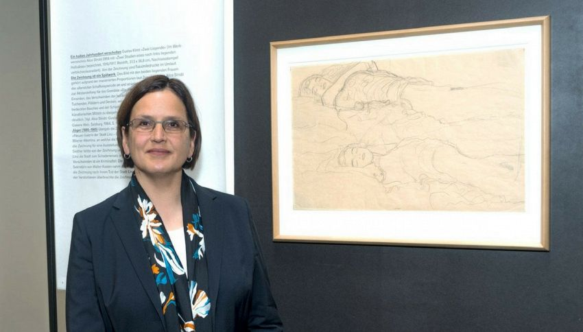 Quadro di Klimt ritrovato in un armadio: Era stato rubato dal direttore del museo di Linz