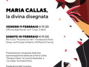 Maria Callas La Divina disegnata