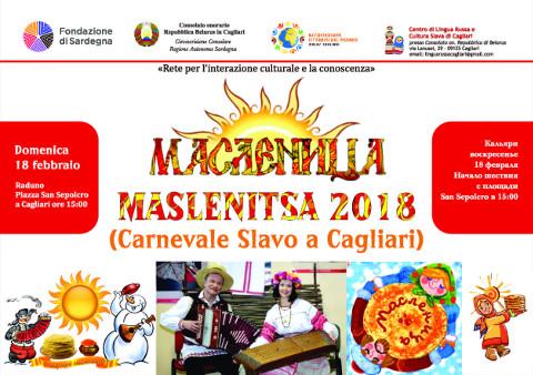 """A Cagliari arriva Maslenitsa, il """"carnevale slavo"""""""