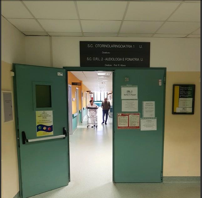 Due giorni in corsia con gli operatori sanitari del reparto di ORL all'ospedale Molinette di Torino