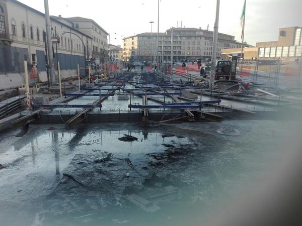Firenze: Necropoli romana sorge da tramvia