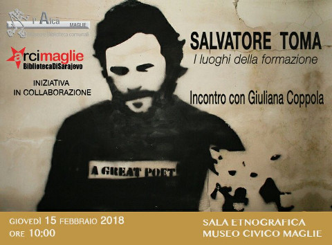 Incontri su Salvatore Toma a Maglie