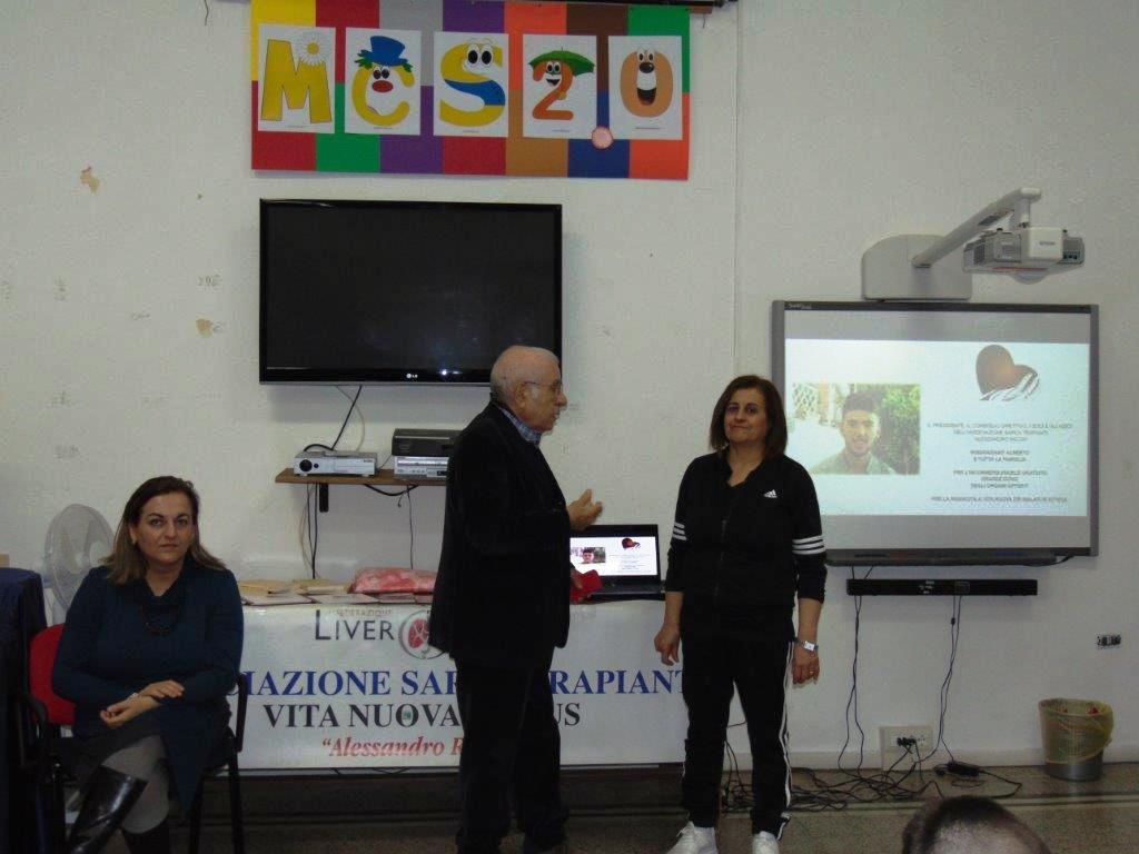 A Iglesias Sarda Trapianti conclude ciclo incontri con studenti scuole medie