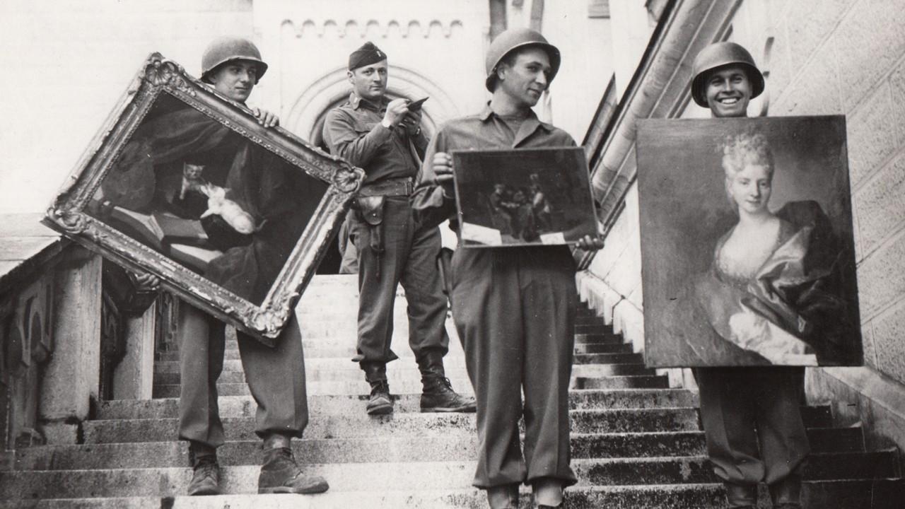 """I """"Monuments Men"""" eroi della seconda guerra mondiale"""