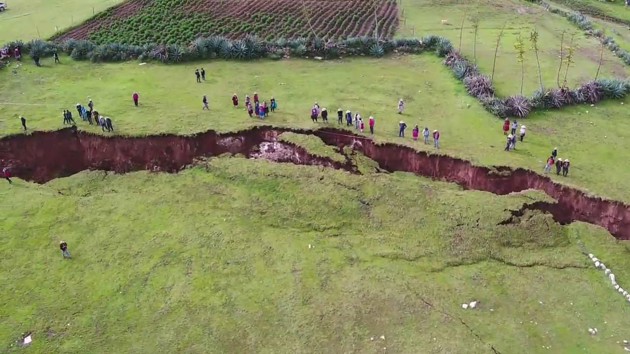 Disastro ambientale, dovuto al cambiamento climatico, a Machu Picchu
