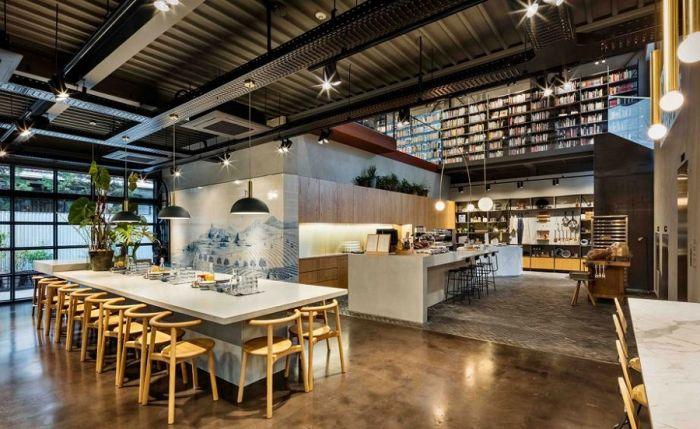 A Seul è nata la Cooking Library la biblioteca del cibo
