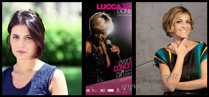 Irene Grandi con Acustica chiude Lucca Jazz Donna 2018 prima del concerto la conversazione con la scrittrice Flavia Piccinni