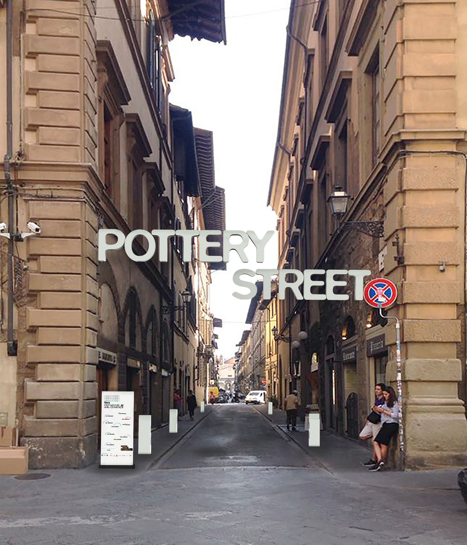 Firenze: Via dei Servi si trasforma in Pottery Street per un weekend