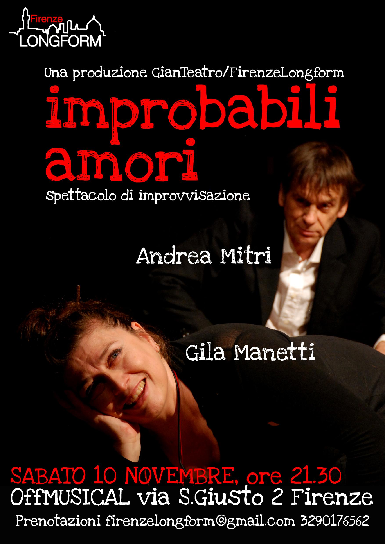 Firenze: All'OFF Musical ritorna lo spettacolo di improvvisazione che parla d'amore