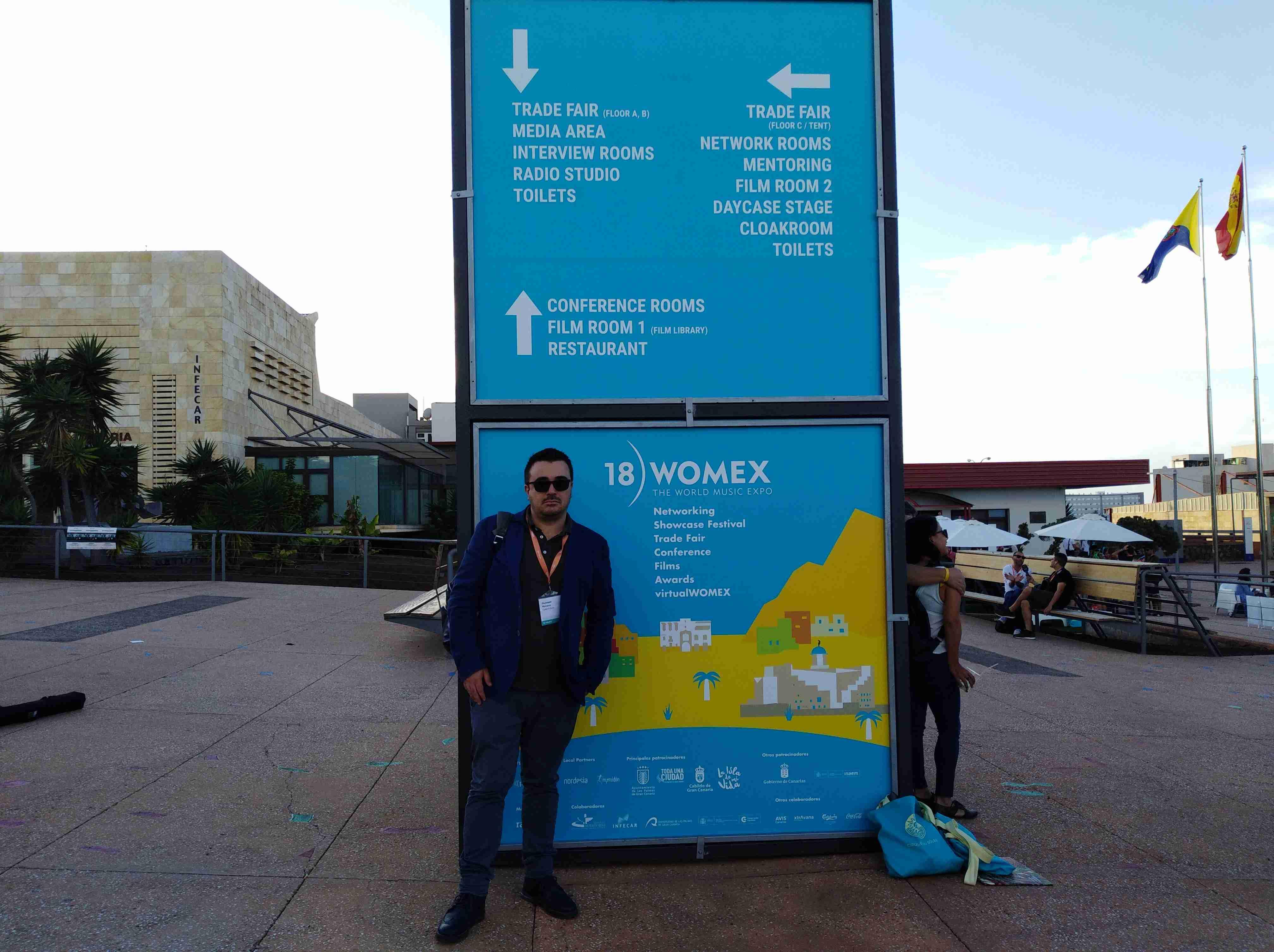 CalabriaSona al Womex2018 l'Esposizione Internazionale di World Music a Las Palmas di Gran Canaria
