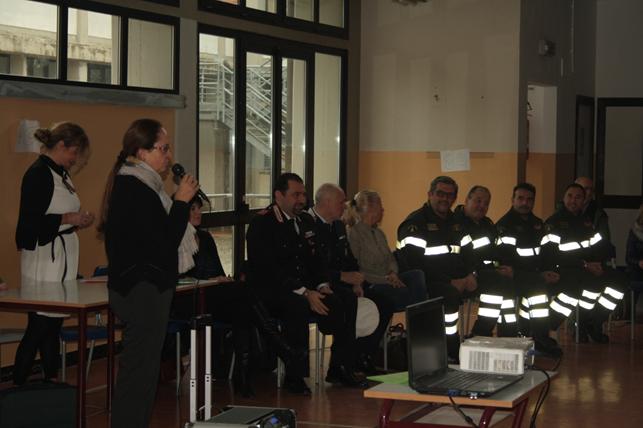 Giornata della sicurezza alla scuola primaria di Borgo San Lorenzo
